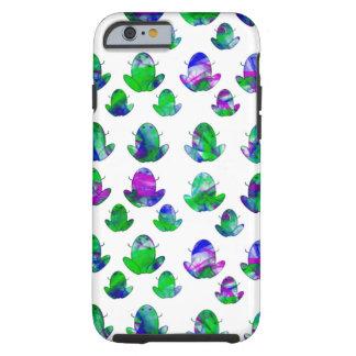 Ranas coloreadas lindas funda de iPhone 6 tough