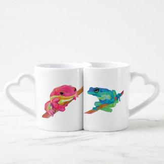 Ranas Set De Tazas De Café