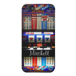 Ranura Machin del casino de Las Vegas personalizad iPhone 5 Carcasa