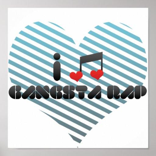 Rap de Gangsta Poster