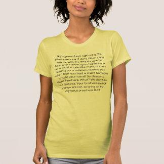 ¡Rap mormón!! Camisetas