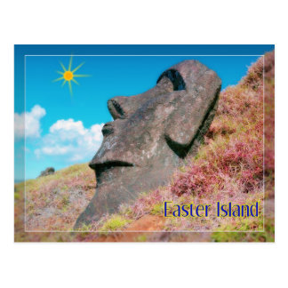 Rapa Nui, isla de pascua Postal