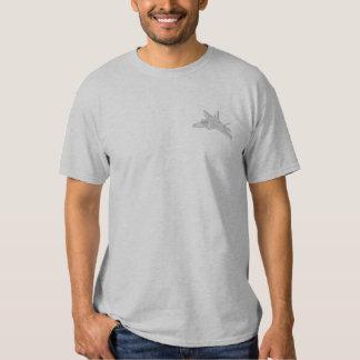 Rapaz F-22 Camiseta Bordada