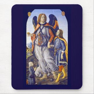 Raphael del santo de San Rafael Alfombrilla De Ratón