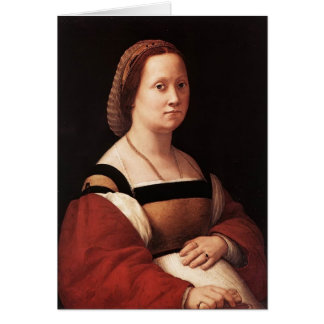 Raphael la mujer embarazada, mujer embarazada de D Tarjeton