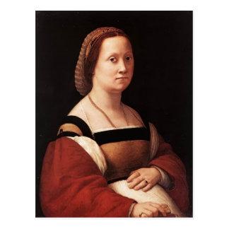 Raphael la mujer embarazada, mujer embarazada de D Tarjetas Postales