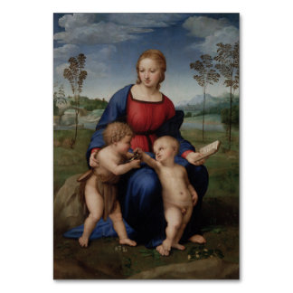 Raphael Madonna del Goldfinch