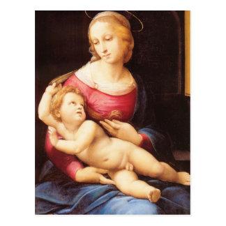 Raphael Sanzio - Bridgewater Madonna Postal