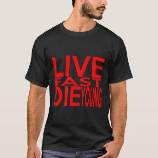 RÁPIDOS VIVOS MUEREN camiseta JOVEN