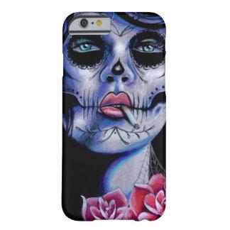 Rápidos vivos mueren día joven del retrato muerto funda barely there iPhone 6