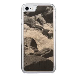 Rapids blancos y negros funda para iPhone 8/7 de carved