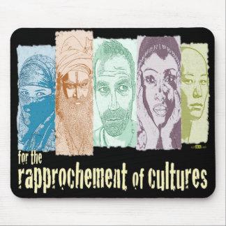 Rapprochement of cultures. alfombrilla de ratón
