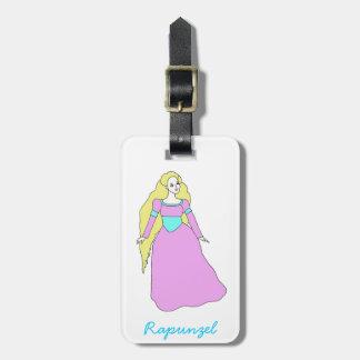Rapunzel Etiquetas Maletas