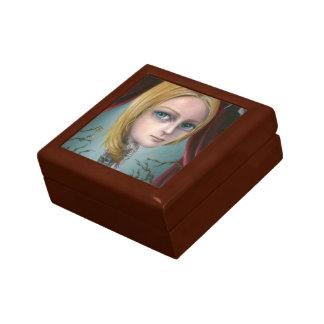 Rapunzel la caja del chica del tatuaje caja de joyas