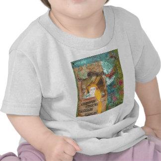 Rapunzel, soñando camisetas