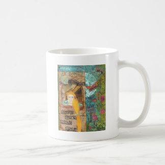 Rapunzel, soñando taza clásica