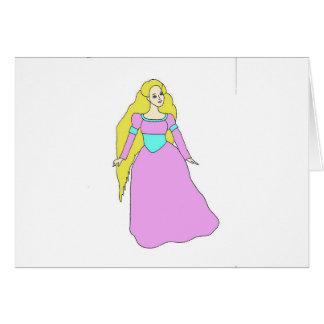 Rapunzel Tarjetas
