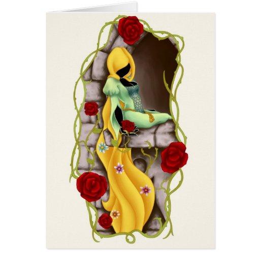 Rapunzel Felicitación