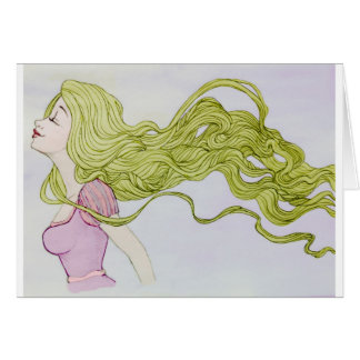 Rapunzel Tarjetón