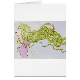 Rapunzel Tarjeta De Felicitación