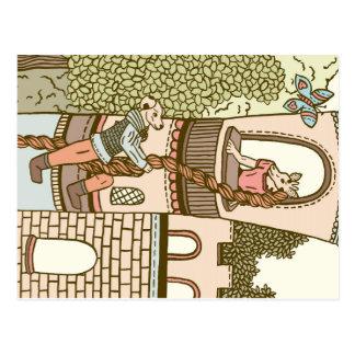 Rapunzel Tarjeta Postal