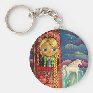 Rapunzel y el llavero del unicornio