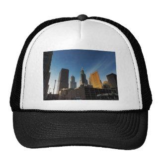 Rascacielos céntricos de Chicago Gorros Bordados