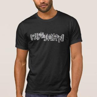 RASGÓN destruido \ camiseta RASGADA del logotipo