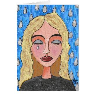 Rasgones de la tristeza - tarjeta