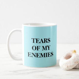 Rasgones de mi taza de los enemigos