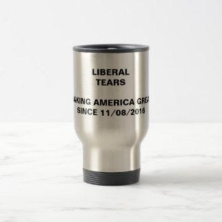 Rasgones del liberal - taza de la elección del