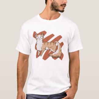 Rasguño americano del rizo camiseta
