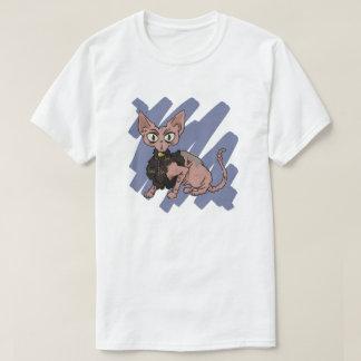 Rasguño de gato de Sphynx Camiseta