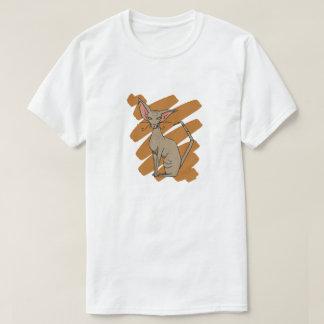 Rasguño de gato oriental camiseta