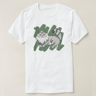 Rasguño siberiano camiseta