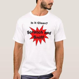 Rasguño y aspiración camiseta