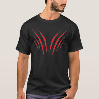 Rasguños de gato del Grunge 6 Camiseta