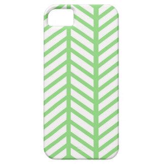 Raspa de arenque verde funda para iPhone SE/5/5s