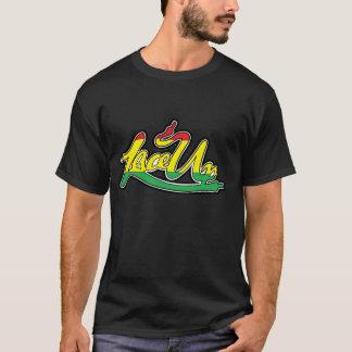 Rasta ata para arriba camiseta