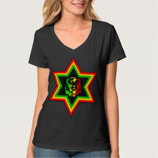 Rasta judío camiseta