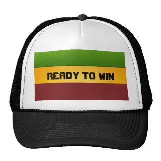 rasta listo para ganar el gorra