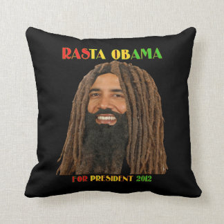 Rasta Obama para presidente american MoJo Pillow Cojín