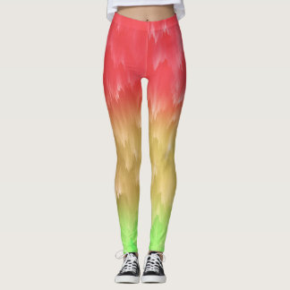 Rasta que fluye leggings