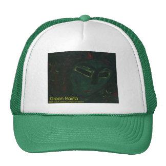 rasta verde gorras de camionero