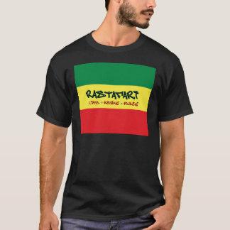 Rastafari vive camisa de las reglas de los