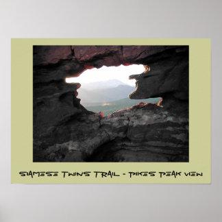 Rastro de los gemelos siameses - opinión máxima de póster