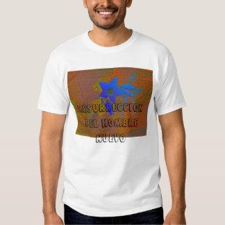 rastro, nuevo de resurreccion del hombre camisetas
