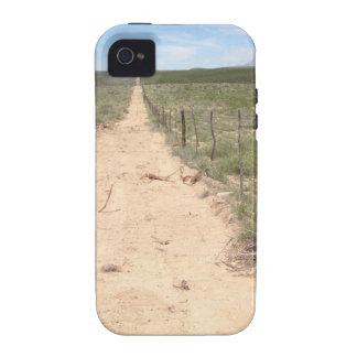 Rastro solo en Tejas del este con el pico de Guada Case-Mate iPhone 4 Carcasas