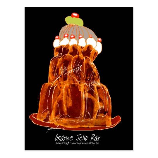 rata anaranjada del jello de los fernandes tony postal