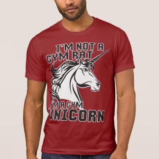 Rata del gimnasio - unicornio del gimnasio - humor camiseta